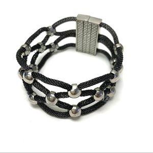 Dark Tone Silver Bracelet